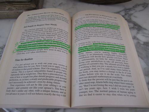 Atkins Book Highlight