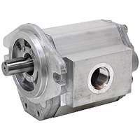 B MOUNT GEAR PUMP (LH rotation, keyed shaft)