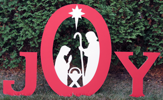 Joy Nativity Set; KofC 14416