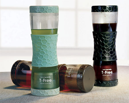 T-Free Tumbler 17oz. Stainless Steel Infuser