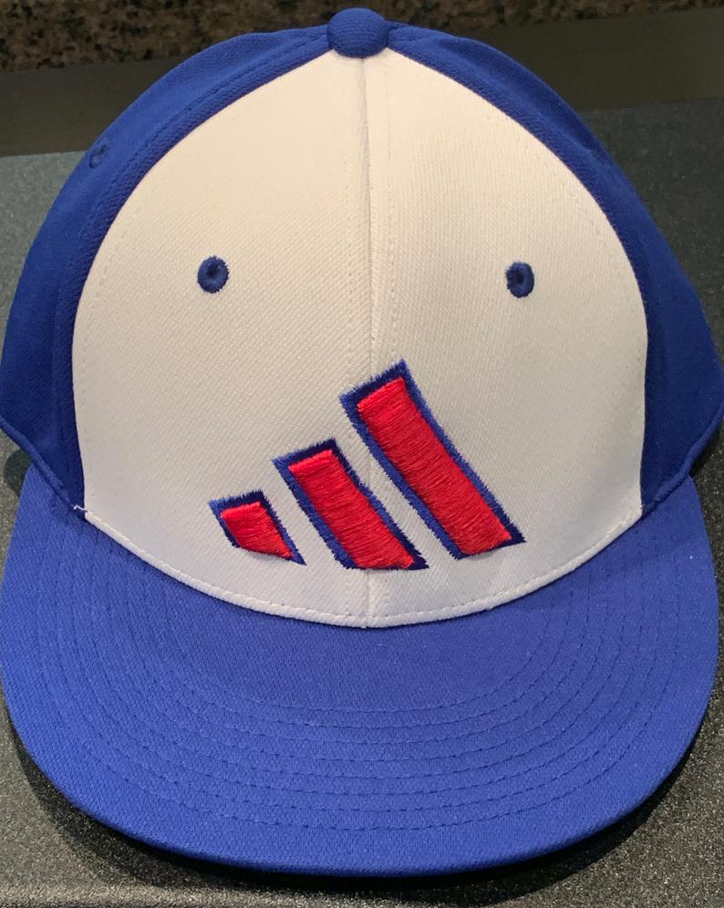 Blue back white front /// hat size M/L
