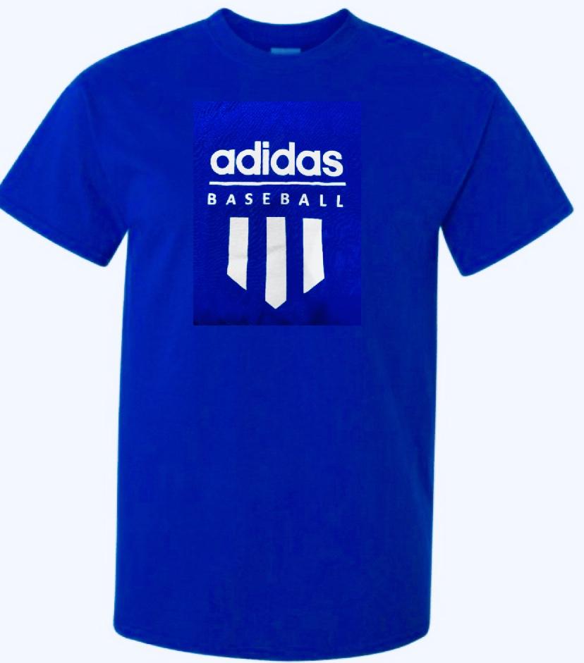 Royal Blue T-shirt adult med