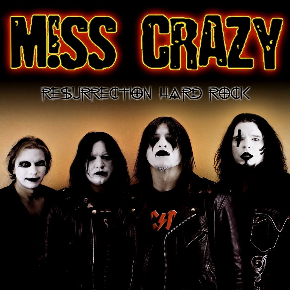 M!SS CRAZY - Resurrection Hard Rock - 2014 CD (US Orders)