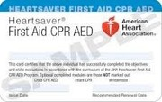 AHA CPR/ FIRSTAID/ AED COMBO
