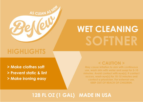 BeNew Wet Cleaning Softner