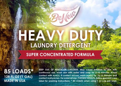 BeNew Heavy Duty Laundry Detergent