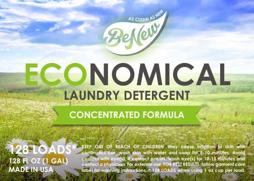 BeNew Economical Laundry Detergent