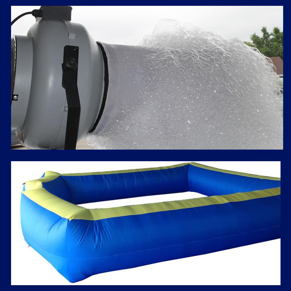 Foam Machine & Foam Pit