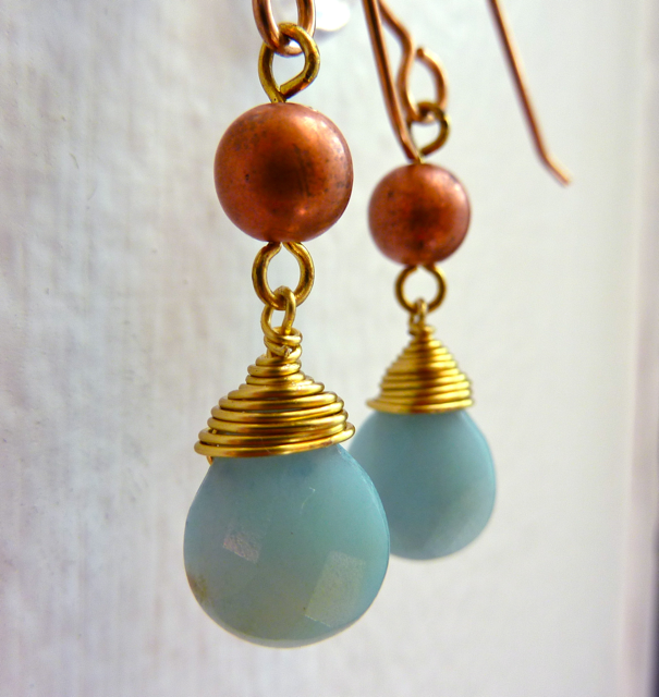 Amazonite Brass