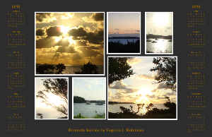 Horizontal Poster - Bermuda Sunrise Collection