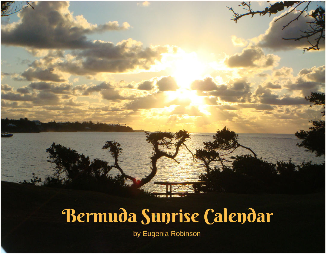 Wall Calendar- Bermuda Sunrise Collection