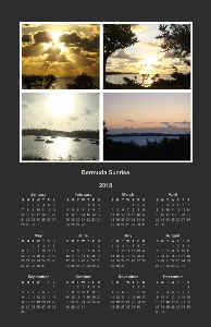 VerticalPoster - Bermuda Sunrise Collection
