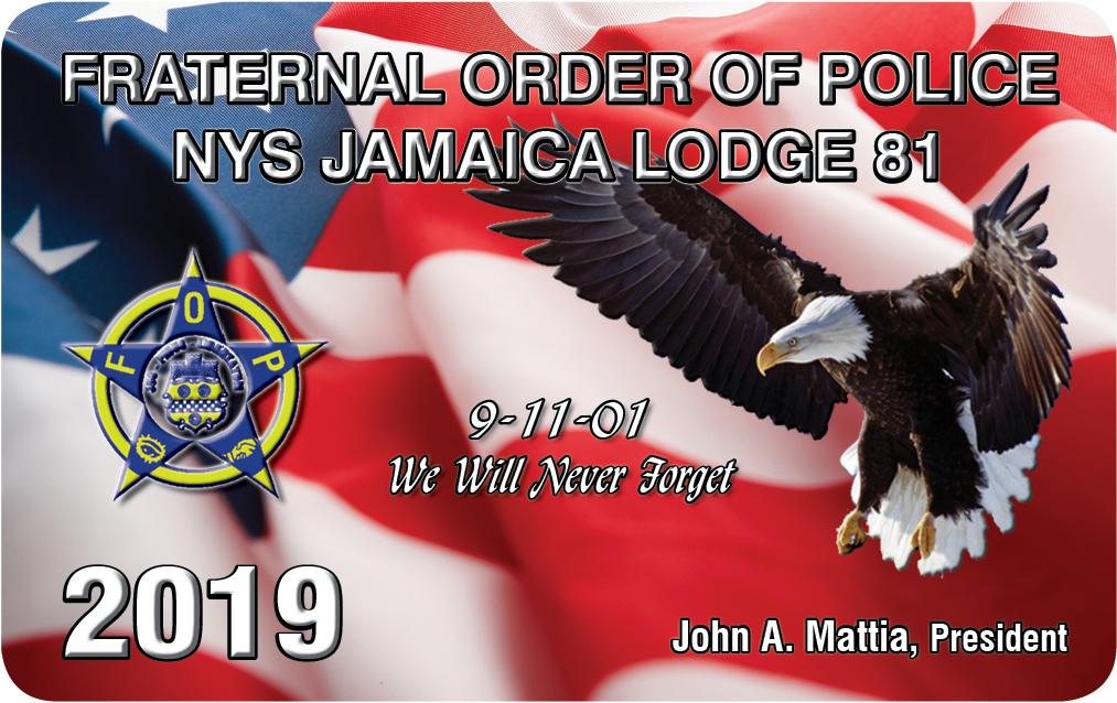 FOP Lodge 81 - 2019 Lodge Card