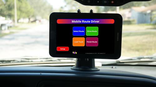 Mobile Route Driver