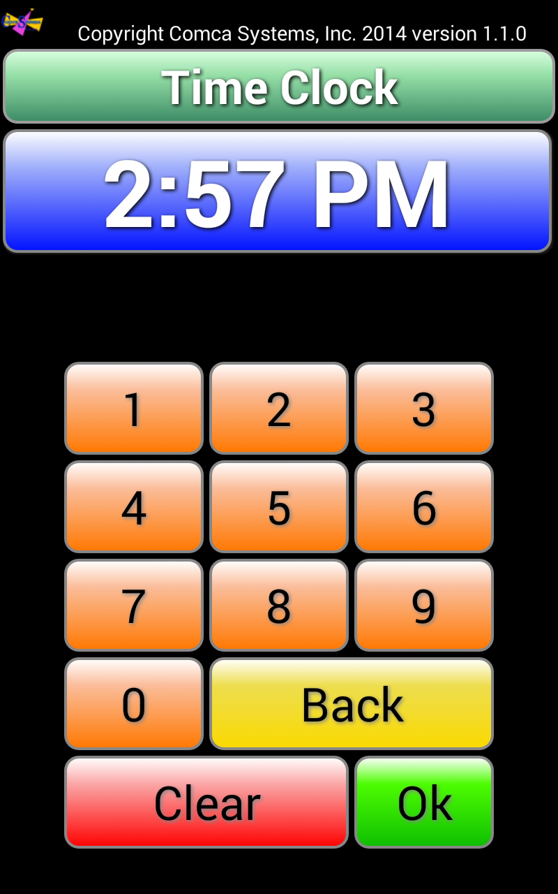 Mobile POS Time Clock