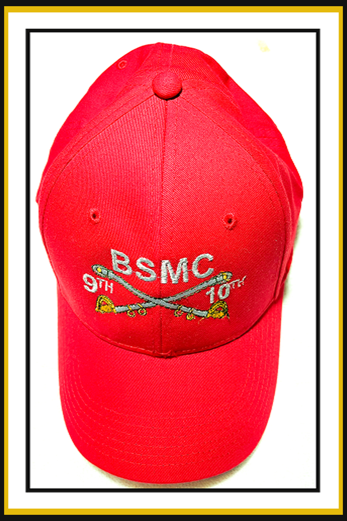 Red Base Ball Hat