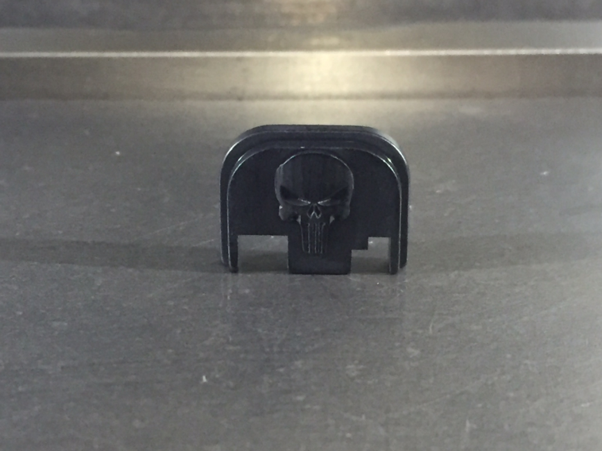 3D Punisher Back Plate (Full Size)
