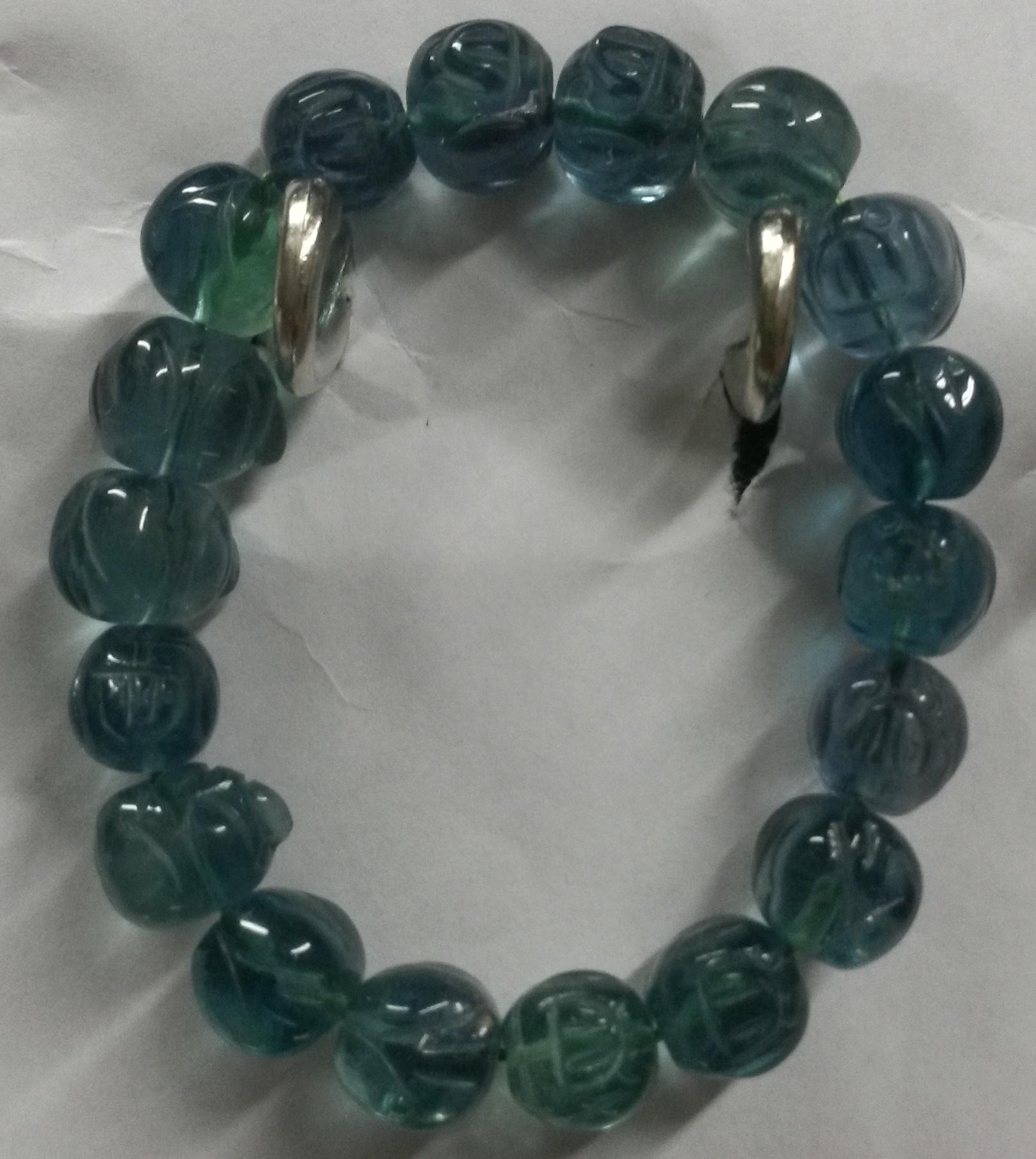 Green Fluorite Bracelet