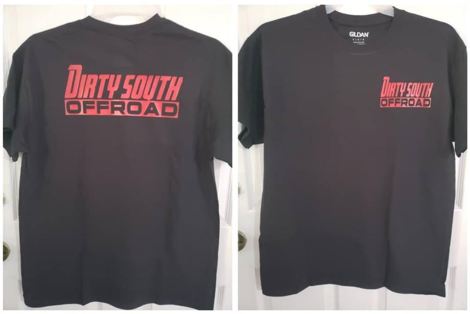 Black Mens T-Shirt w/ COLOR Logo