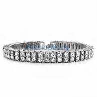 2 row silver bracelet