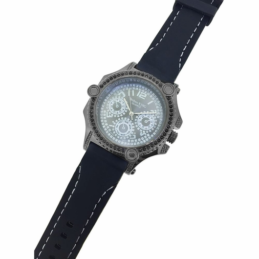 black ice bling watch