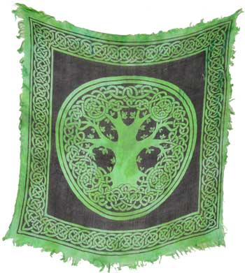 Altar Cloth Tree of Life 18x18 (out of stock)