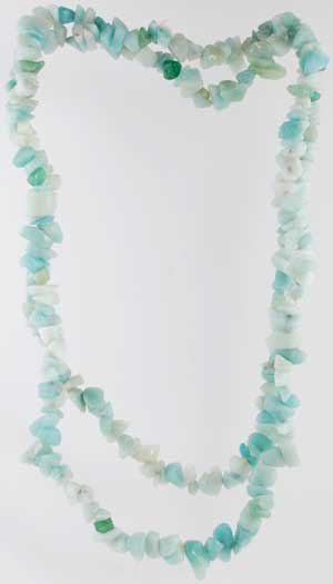 Amazonite Chip Necklace (out of stock)
