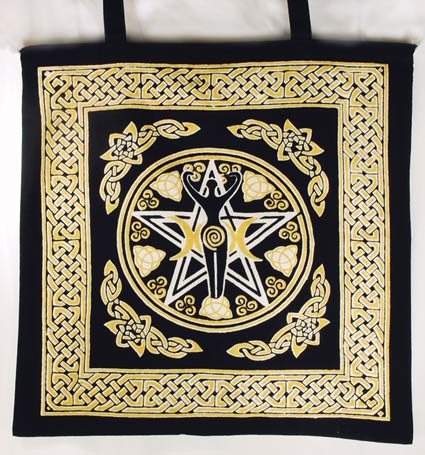 Tote Bag Pentagram Goddess