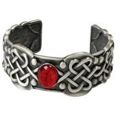 Celtic Ruby Bracelet