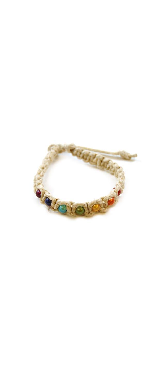 Chakra Hemp Bracelet (out of stock)
