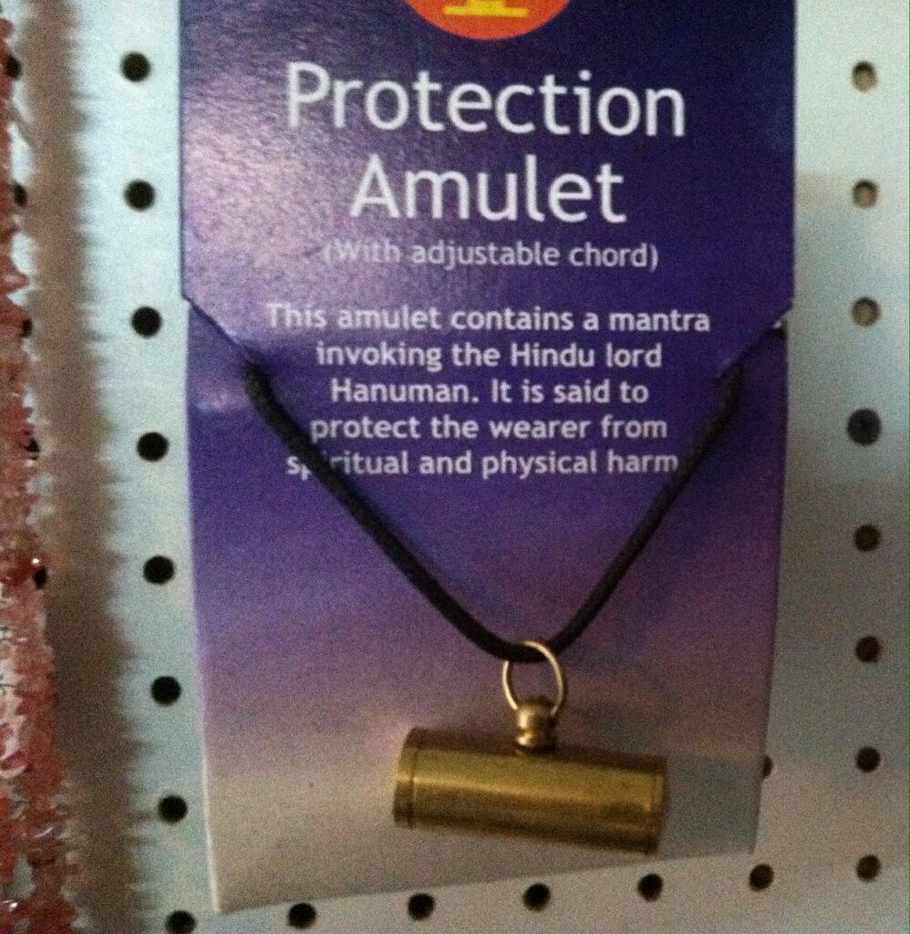 Amulet Protection Tube