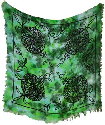 Altar Cloth Greenman 18x18 (out of stock)