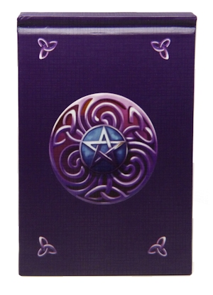 Purple Pentacle Book of Shadows
