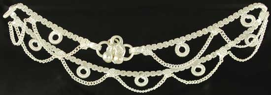 Silvertone Anklet with Bells (out of stock)