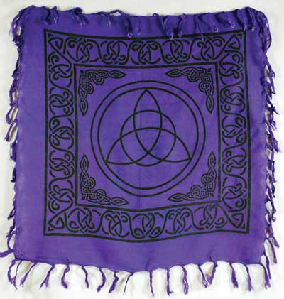 Altar Cloth Triquetra