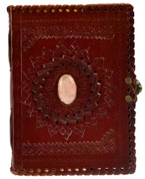 Stone Embossed Leather Book of Shadow (out of stock)