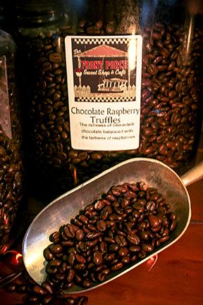 Chocolate Rasberry Truffles