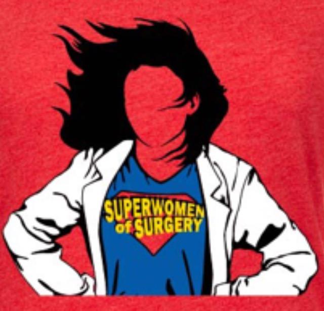 Superwomen of Surgery T-shirt