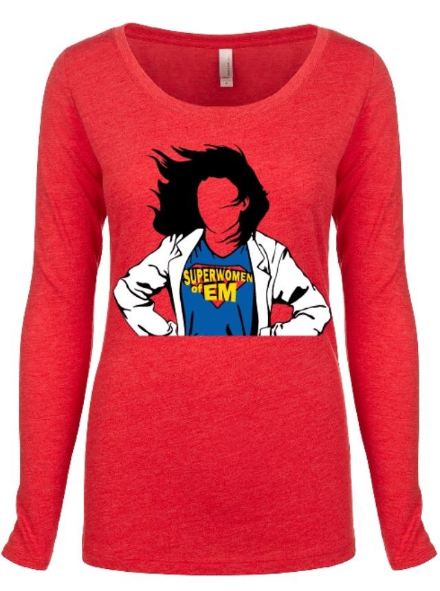 Superwomen of EM LONG Sleeve