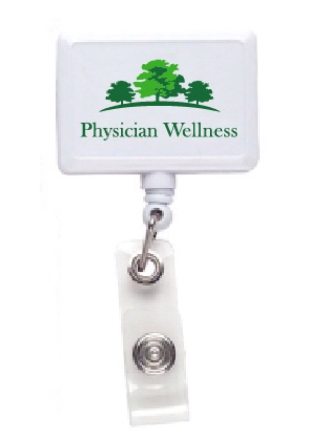 Physician Wellness ID Badge holder