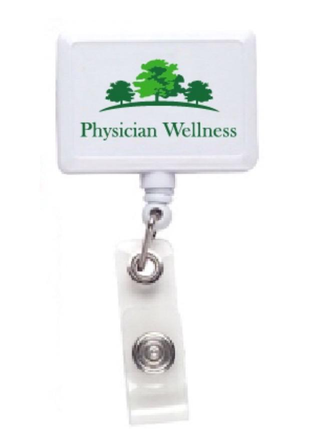 Physician Wellness ID Badge holder