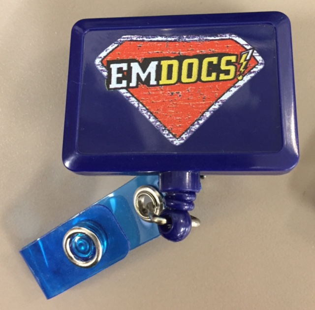 Super EMDOCS ID Badge holder