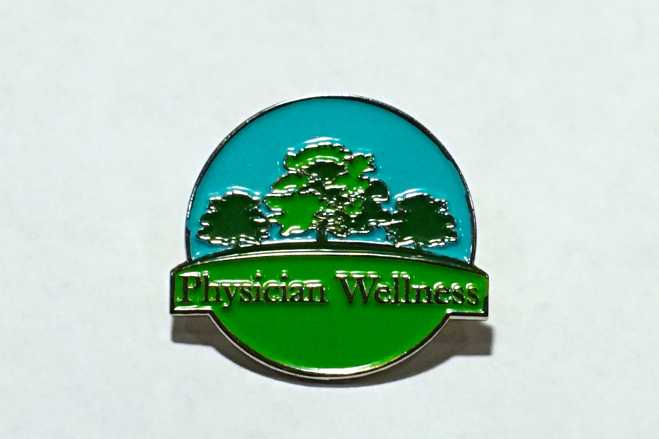 Physician Wellness Pin