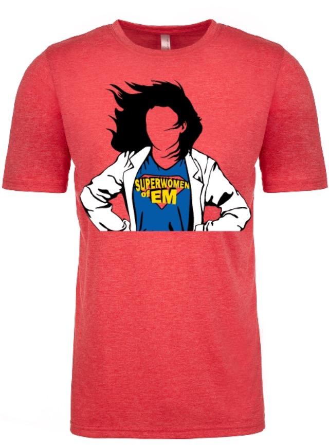 Superwomen of EM SHORT sleeve