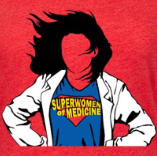 Superwomen of Medicine T-shirt