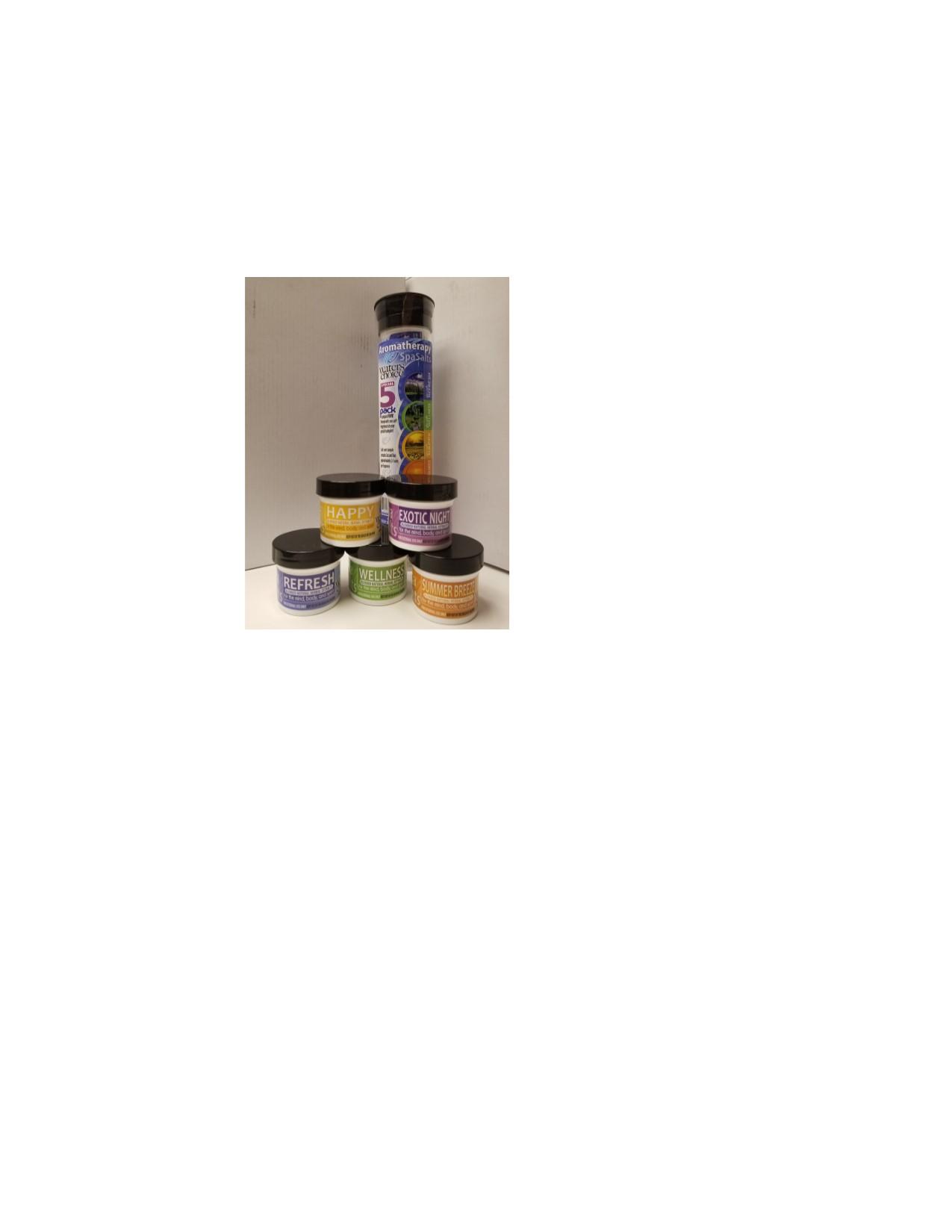 Aromatherapy Salt Sample Pack