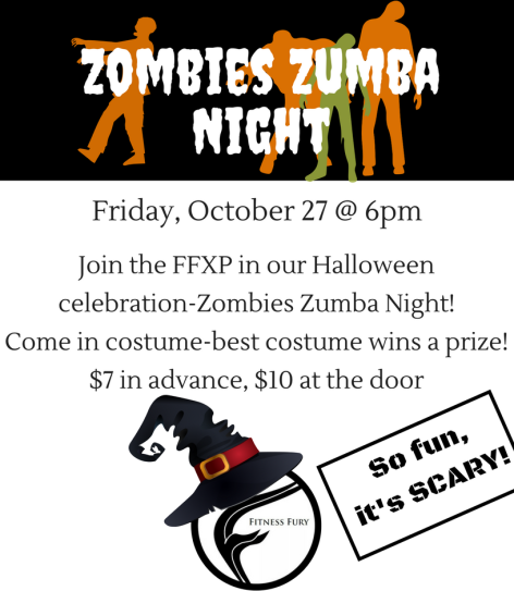 Zombie Zumba Night