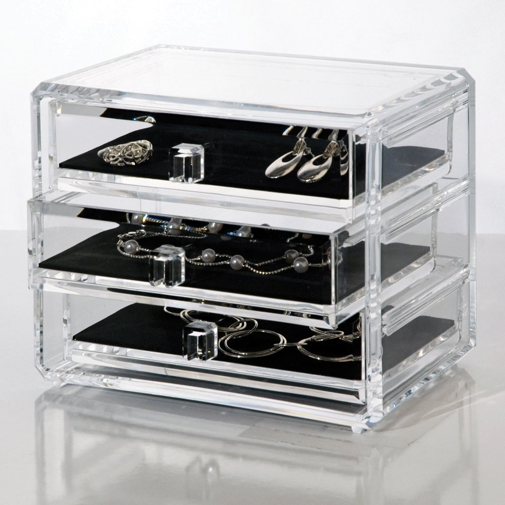 divine elements of design jewelry cosmetic organizers