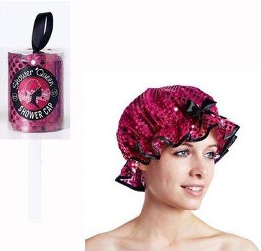Sequin Shower Cap