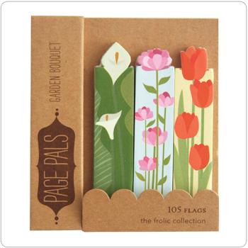 Page Pals: Garden Bouquet
